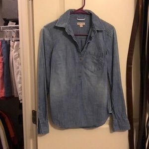 Denim shirt size extra small
